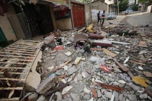 28 palestinos, incluindo dez crianças e uma mulher, foram mortos em Gaza [Mohammed Asad/Monitor do Oriente Médio]