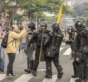 As armas do Estado medem forças com o povo na Colômbia