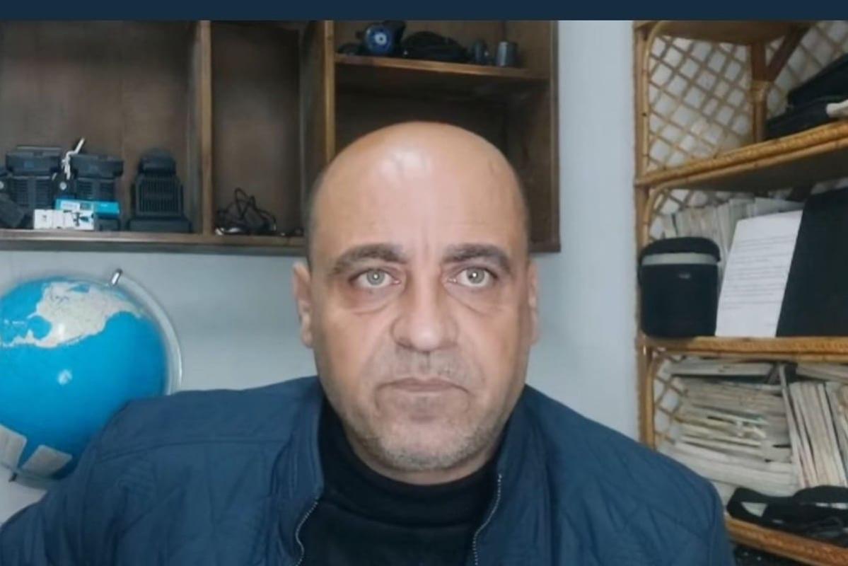 Ativista palestino Nizar Banat [@ KhaledAbuToameh / Twitter]