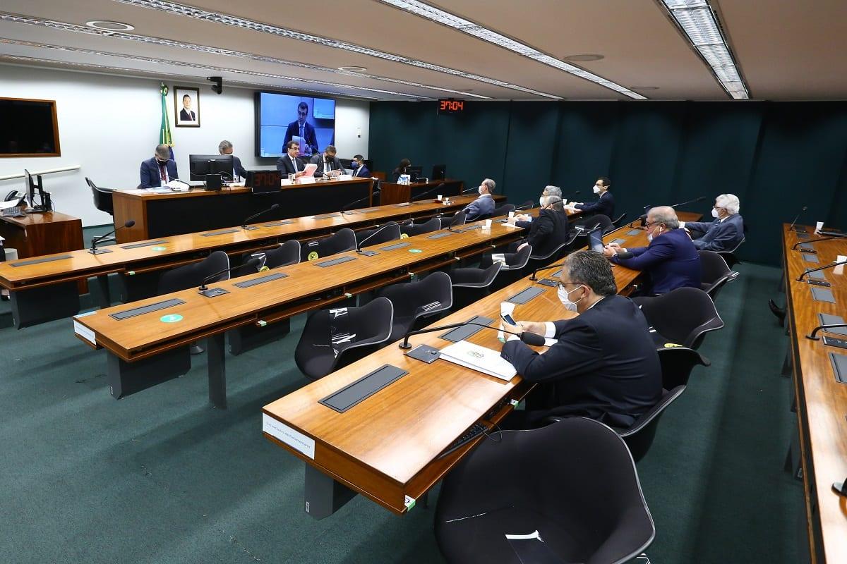 Audiência pública da Comissão de Relações Exteriores e de Defesa Nacional (CREDN) da Câmara dos Deputados, em Brasília, 28 de abril de 2021 [Cleia Viana/Câmara dos Deputados]