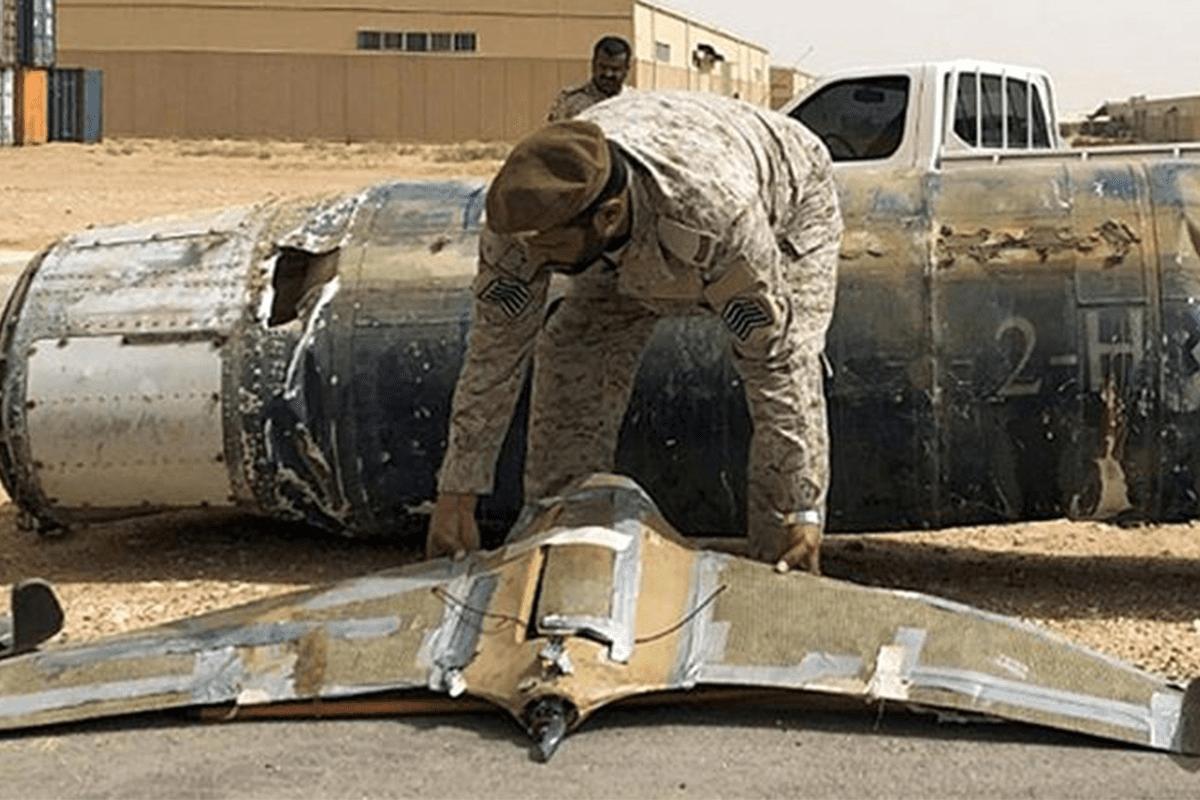 Coalizão saudita inspeciona drones houthis abatidos no território da monarquia [Twitter]