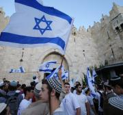 A ultranacionalista Marcha da Bandeira foi como uma voz de comando para a resistência palestina