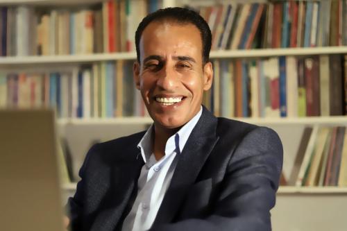 Escritor jordaniano Jalal Barjas [Arquivo Pessoal]