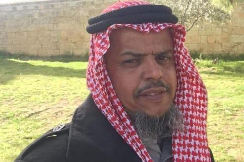 Membro do Comitê Superior para Árabes do Negev, sheikh Osama Al-Uqbi, em 7 de junho de 2021 [asranews/Twitter]