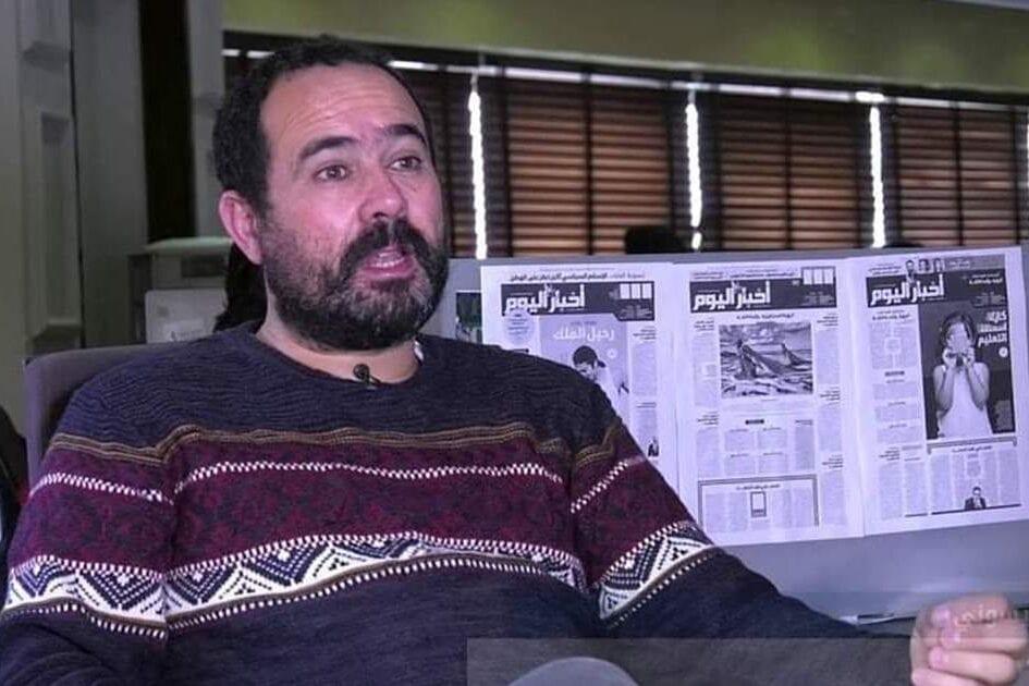 Suleiman Raissouni, repórter do jornal marroquino independente Akhbar al-Yaoum [Akhbar al-Yaoum/Anistia Internacional]