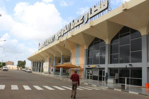 Aeroporto na cidade de Aden, no sul do Iêmen, em 3 de janeiro de 2021 [Saleh Obaidi/AFP via Getty Images]