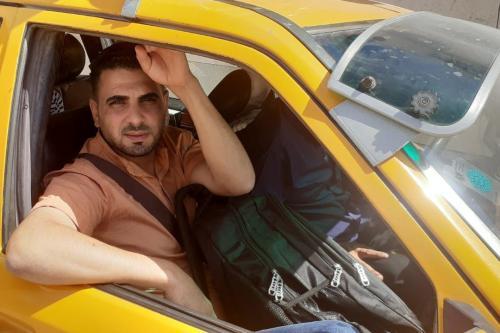 Ayman Adly, palestino de Gaza, em 19 de agosto de 2021