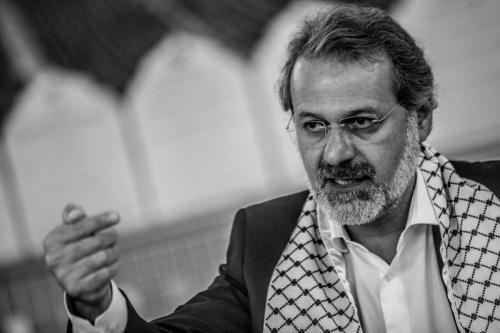 Ualid Rabah, Presidente da FEPAL- Federação Árabe Palestina do Brasil [ Foto: Leandro Taques]