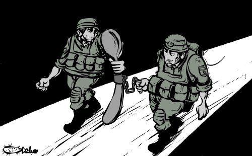 O fracasso inevitável de Israel: como uma velha colher enferrujada o derrotou [Sabaaneh/Monitor do Oriente Médio]