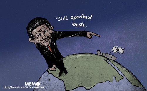 A África permanece ao lado da Palestina [Sabaaneh/Monitor do Oriente Médio]