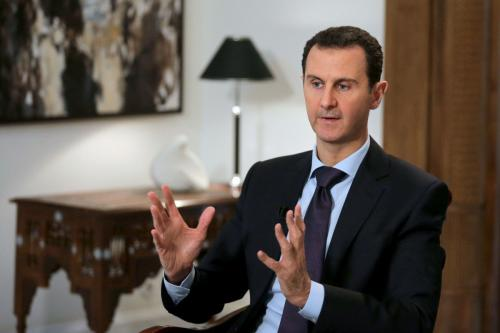 O mundo vai se arrepender de tirar Assad do isolamento
