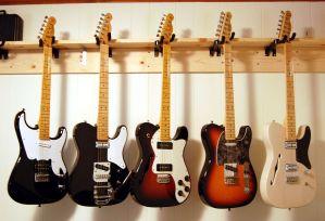 storing guitars