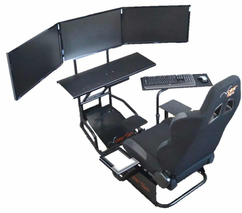 Volair Sim Flight Chassis Review  Best Simulation Chair