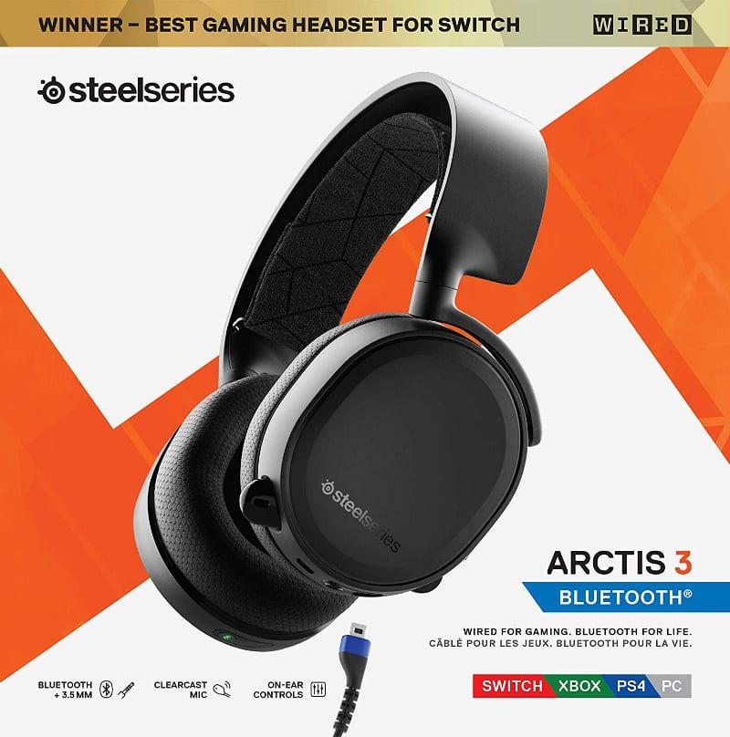 SteelSeries Arctis 3 Bluetooth Review - Premium Wireless Multi Platform Headset