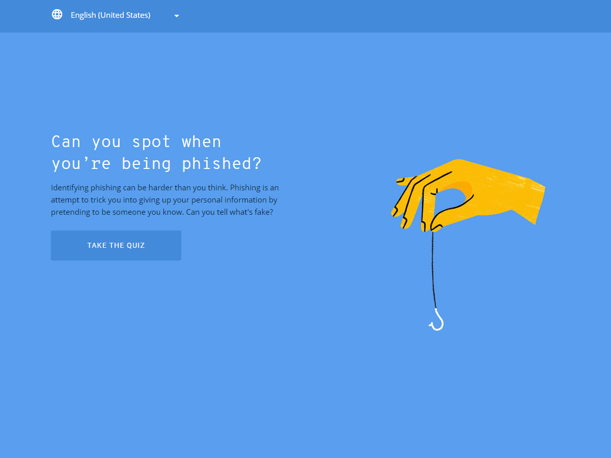Google Phishing Quiz