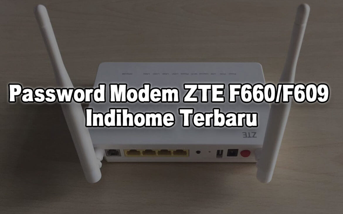 Password Modem ZTE