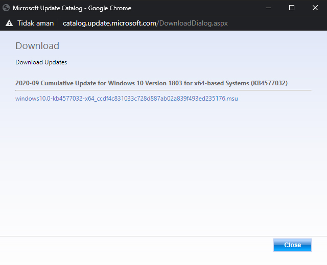 Microsoft Update Catalog Download Updates