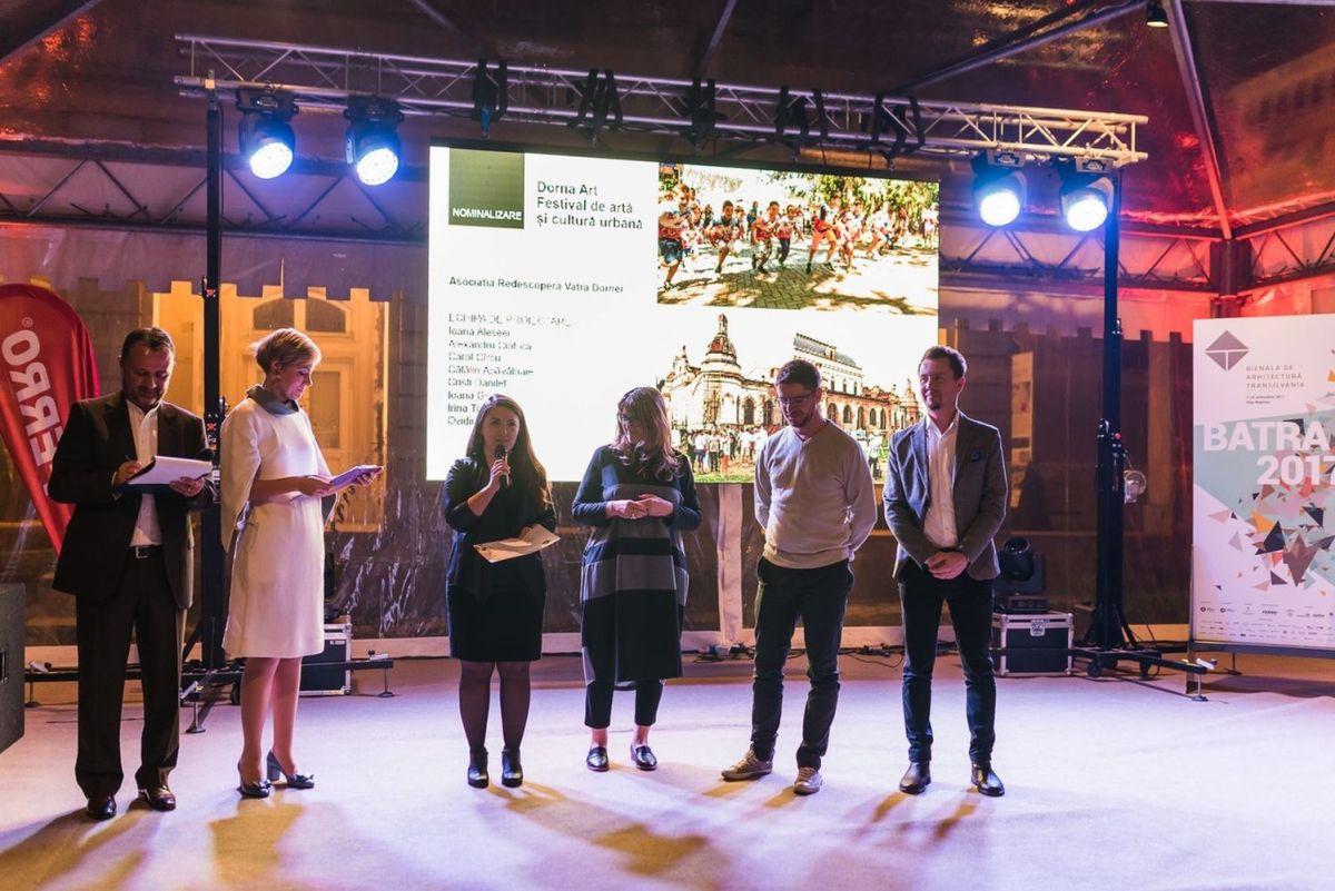 Proiectul Dorna Art a fost apreciat de juriul Bienalei de Arhitectură Transilvania