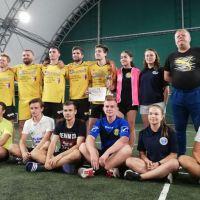 Echipa de tenis cu piciorul din Vatra Dornei, locul 6 la etapa de la Dumbrăvița
