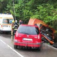 Un tânăr din Crucea a ajuns la spital în urma unui accident rutier provocat de un șofer din Vatra Dornei