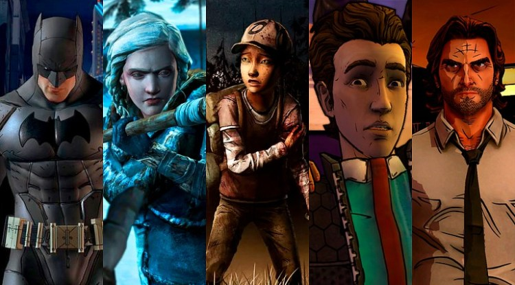 "TellTale Games, estudio que desarrolló juegos como ""Batman: The TellTale Series"", ""The Walking Dead"" y ""Game of Thrones"", cerrará sus puertas al declarase en quiebra. ©TellTale Games."
