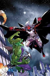 Spider-Man y Moon Knight se convierten en ArachKnight. ©Marvel Entertainment Inc.