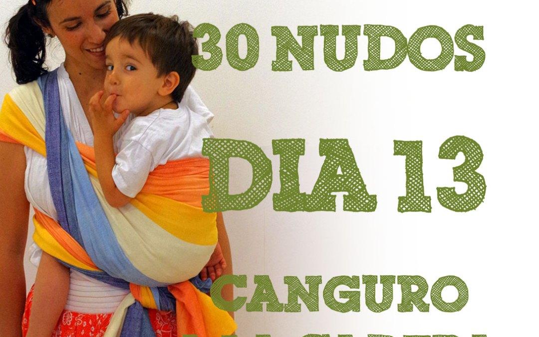 Día 13.- Canguro a la cadera #30dias30nudos