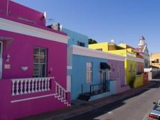 Die farbigen Häuser im Bookap Viertel.