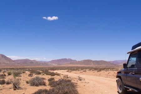 (K)ein einziges Wölkchen im Richtersveld Nationalpark.