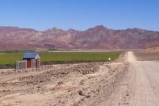 Das Wasser für den Traubenanbau in Aussenkehr wird aus dem Oranje River gepumpt.