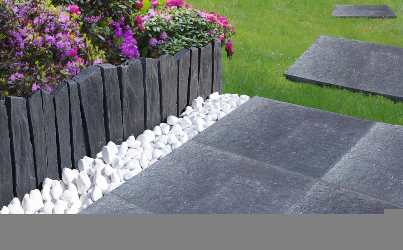 bordure jardin moderne. Black Bedroom Furniture Sets. Home Design Ideas
