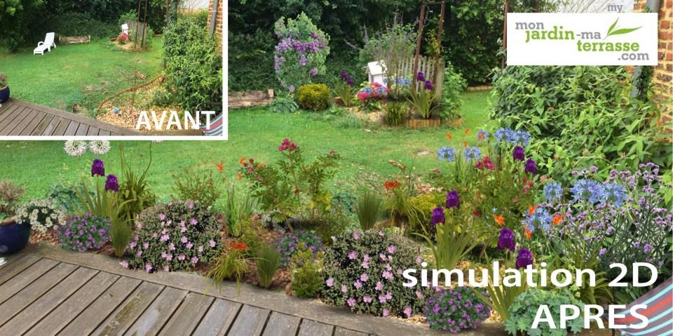 fleurir un coin de jardin