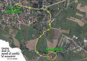 Camino al monasterio