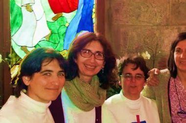 Mujeres en la Pascua