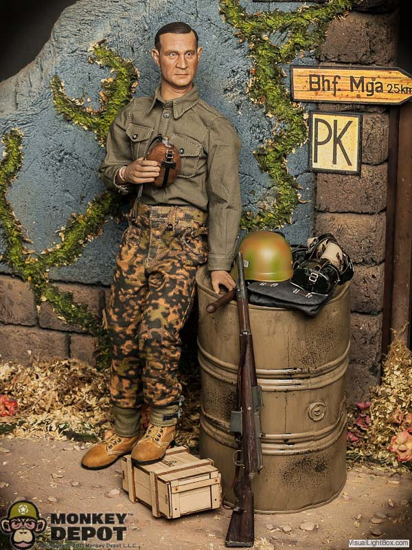 Monkey Depot  WWII German 10th SS Panzer Division Frundsberg