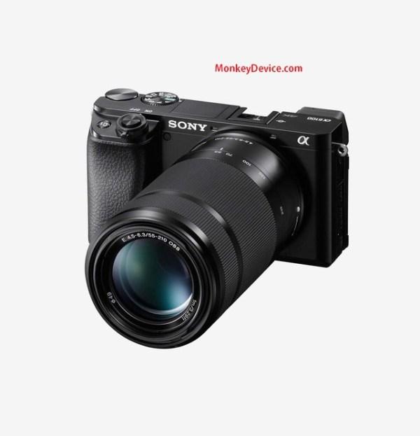 Sony Alpha ILCE-6100Y 24.2 MP Mirrorless Digital SLR Camera