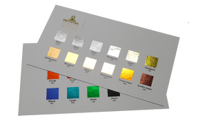 Foliedruk Kleurkaarten
