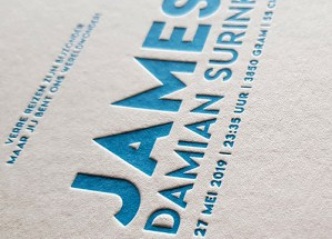 Letterpress James