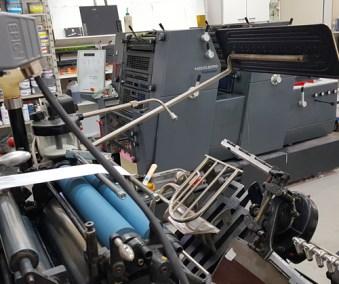 Heidelberg GTO printmaster