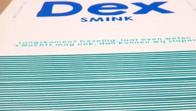 Kleur Op Snede kaart DEX