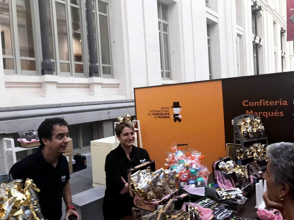 Confitería Marqués stand Salón Internacional del Chocolate