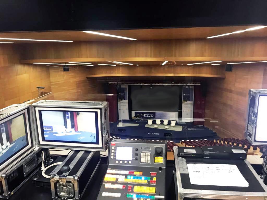 Mesa de Control del Auditorio