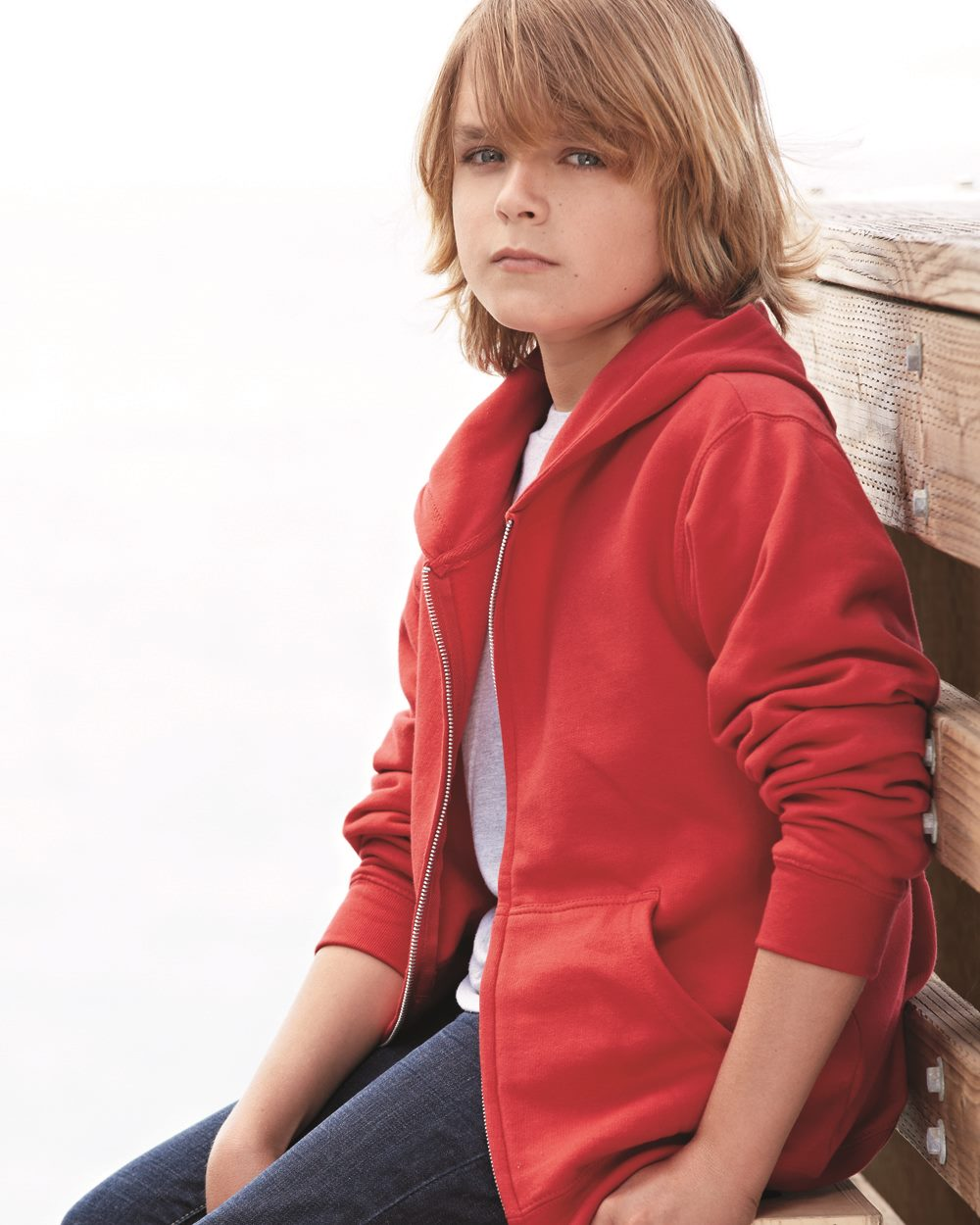 independent trading company youth zip up