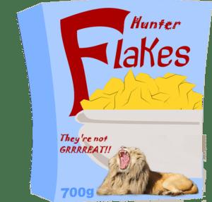 LION HUNTER FLAKES 2