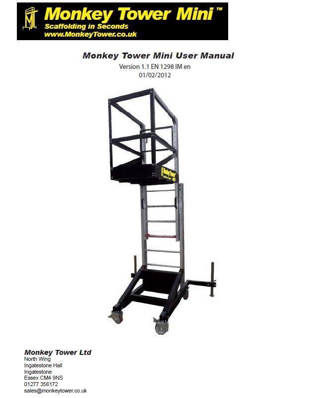 Monkey Tower Scaffold Tower Scissor Lift