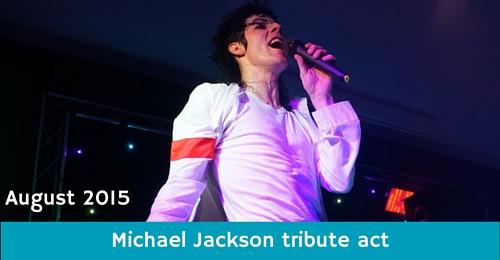 Michael Jackson tribute act at Monkey Tree Holiday Park