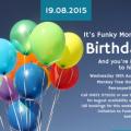 Funky Monkey's birthday party