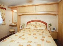 Towan Holiday Home double bedroom at Monkey Tree Holiday Park near Newquay