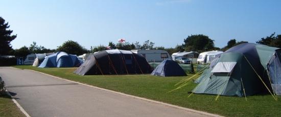 campsite in newquay