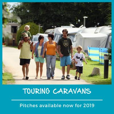 Touring caravans 2019 pitches
